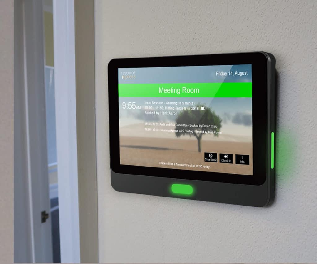 Aura touch screen