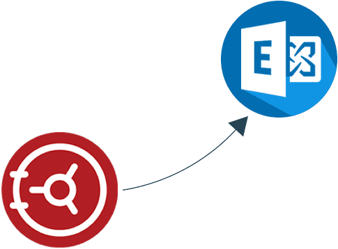 EV to Exchange email archive migration
