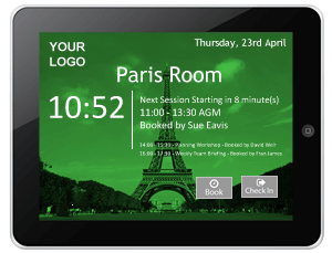 Exchange-integrated touch screen green