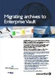 SRG SSR EV EmailXtender to EV migration