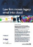 Trowers & Hamlins Exchange to Mimecast email archive migration