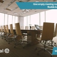 Give empty meeting rooms the boot with a flexible & affordable solution