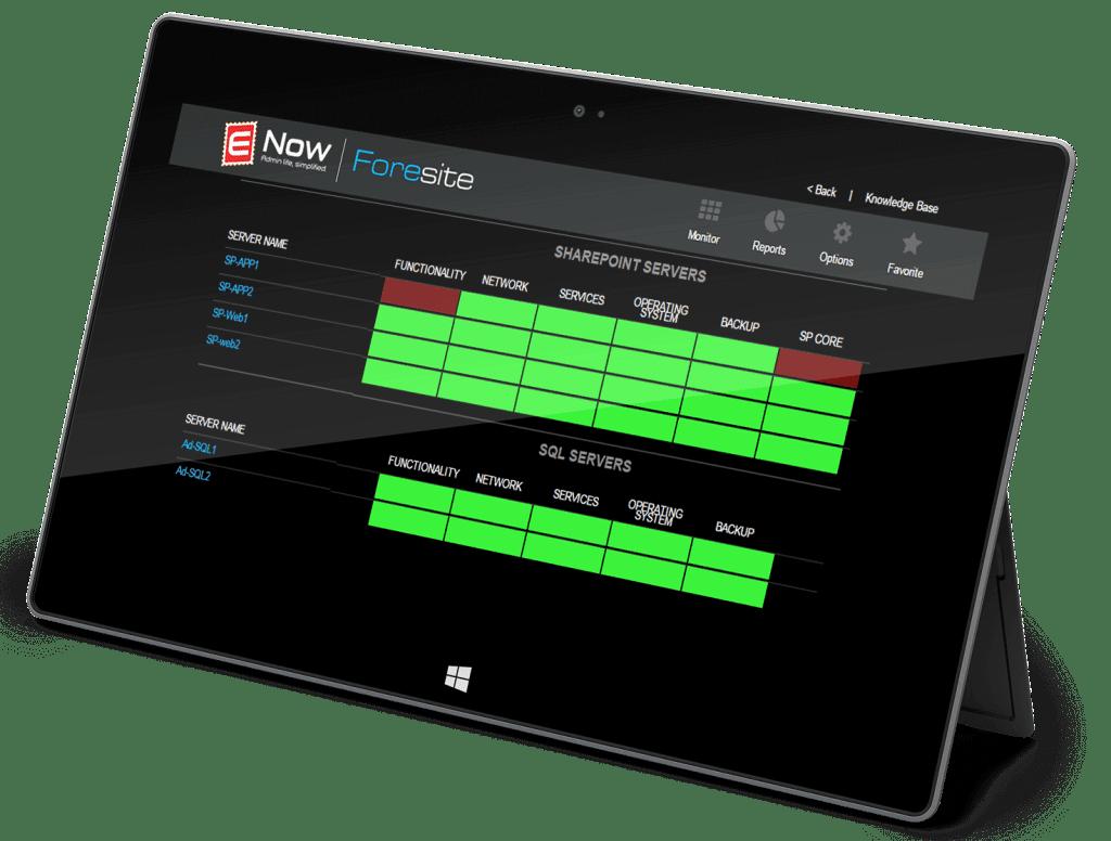 foresite sharepoint monitoring 503 error