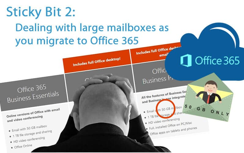 Mailbox Size (& Archive) Size Is Important When You Migrate
