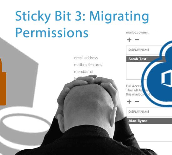 migrating permissions Office 365 sticky bit