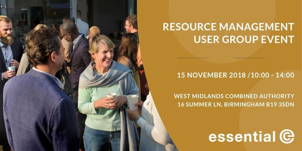 Resource Management User Group Event